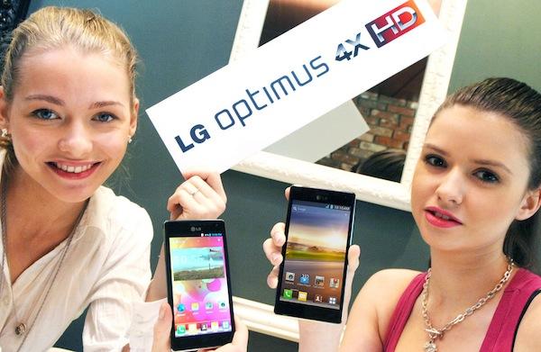 LG Optimus 4X HD arriva in Italia a giugno