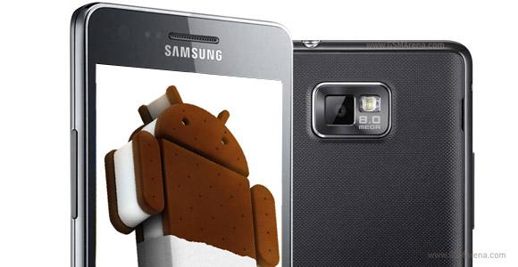 Samsung Galaxy S2 ha preinstallato Android 4.0 ICS nei nuovi stock