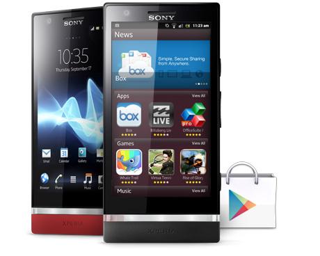 Sony Xperia P: video del contenuto della confezione