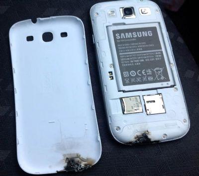 Samsung Galaxy S3 prende fuoco, la casa sud coreana indaga