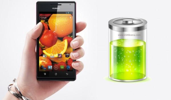 Huawei Ascend P1: quanto dura la batteria?