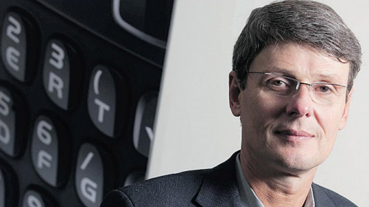 Thorsten Hein, CEO di RIM: Il mio secondo telefono è un Samsung Galaxy S3