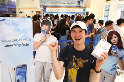 Samsung Galaxy S3 LTE: vendute 50.000 unità in Corea del Sud