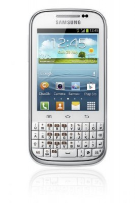 Samsung Galaxy Chat: nuovo smartphone Android con tastiera QWERTY fisica