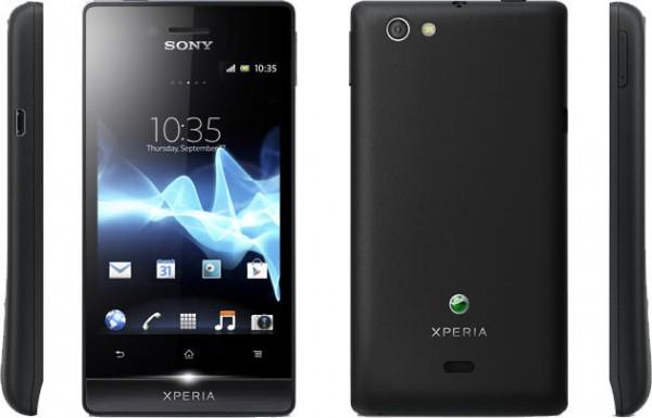 Sony Xperia Miro in pre-order a 126 sterline