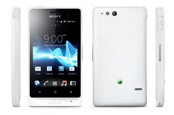 Sony Xperia Go disponibile in UK a 225 sterline