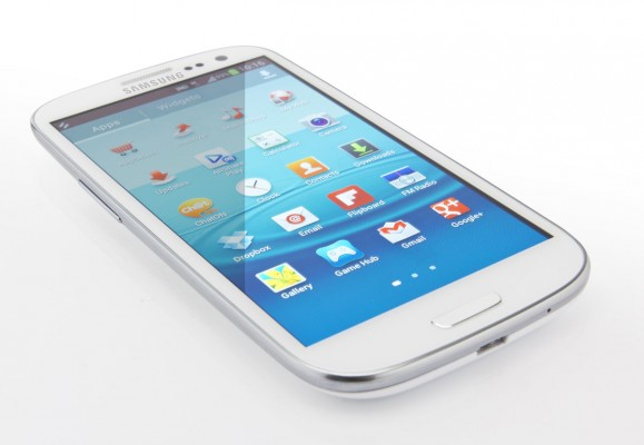 Samsung Galaxy S3: firmware Android 4.1 Jelly Bean in video