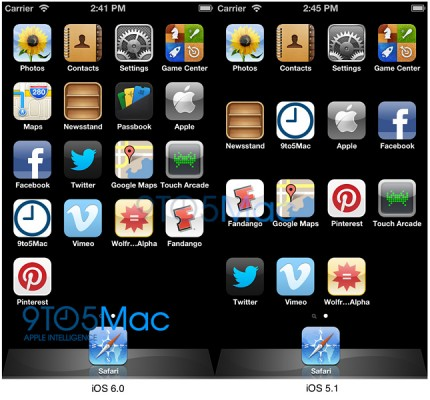 Apple iPhone 5: nuovi indizi da iOS 6