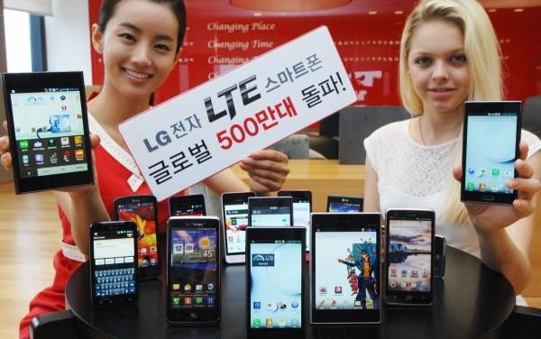 LG Electronics ha venduto 5 milioni di smartphone 4G LTE in tutto il mondo