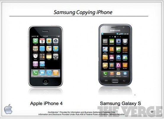 Samsung dovrà pagare 1 miliardo di dollari per aver copiato Apple