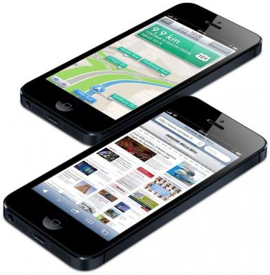 Apple iPhone 5 arriva in Italia il 28 Settembre con Vodafone e H3G