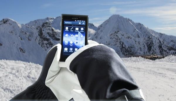 Sony Xperia Sole: nuova modalità per usare il telefono con i guanti