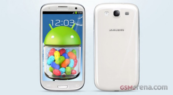 Samsung Galaxy S3: video delle novità di Android 4.1 Jelly Bean