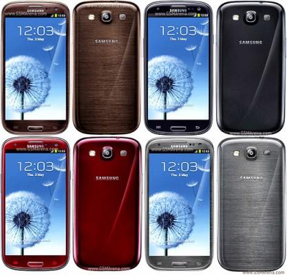 Nuovi colori per il Samsung Galaxy S3