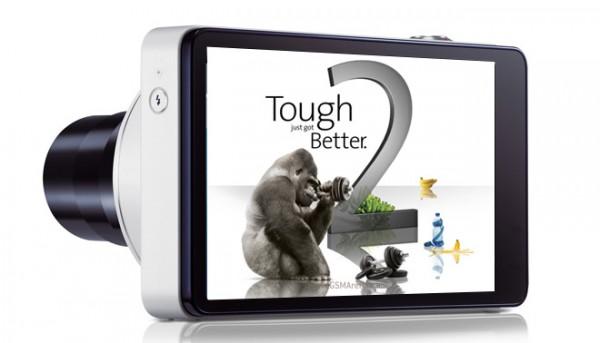 Samsung Galaxy Camera ha la protezione Gorilla Glass 2
