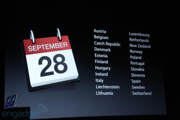 Apple annuncia il nuovo iPhone 5, display da 4 pollici e fotocamera da 8 Megapixel