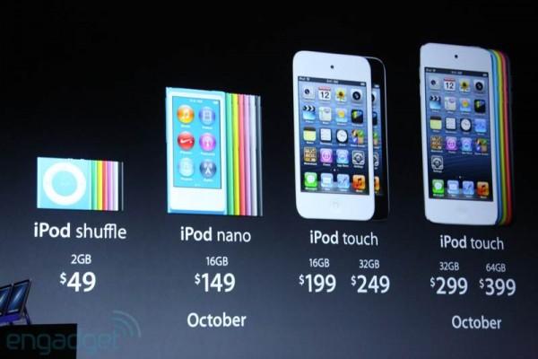 Riassunto novità della conferenza stampa Apple: iPhone 5, iOS 6, iTunes 11, iPod Nano, iPod Touch 5G
