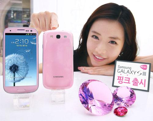Samsung Galaxy S3: ufficiale il nuovo colore Martian Pink