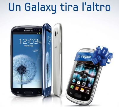 Samsung Galaxy Music in regalo a chi compra il Galaxy S3