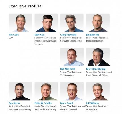 Apple annuncia una riorganizzazione del team, via John Browett e Scott Forstall