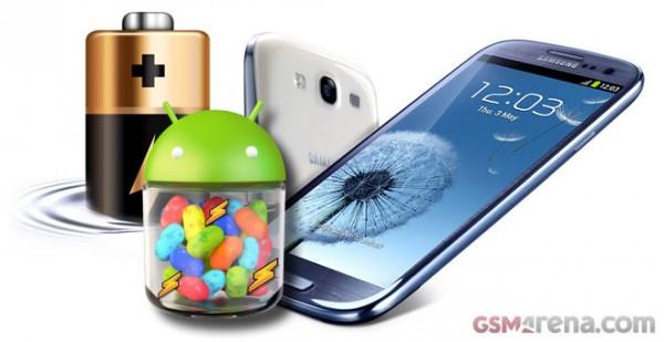 Samsung Galaxy S3: test durata della batteria con Android 4.1 Jelly Bean