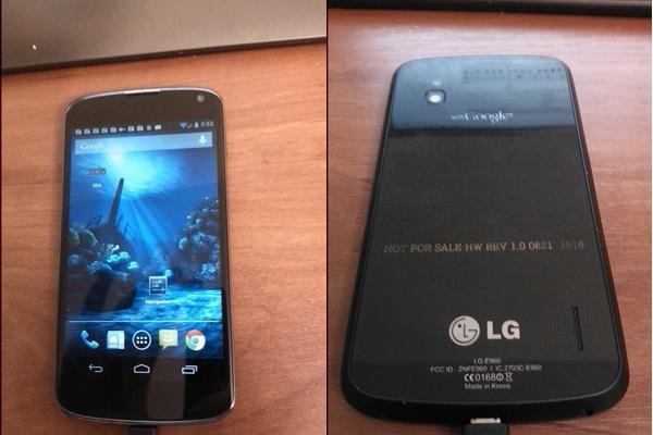 LG Nexus 4: possibile annuncio ufficiale il 29 Ottobre