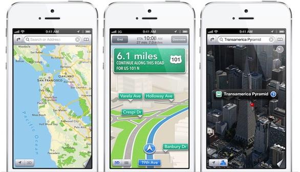 Mappe di iOS 6: Apple aveva ancora 1 anno di licenza di Google Maps