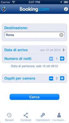 L'app Booking.com si aggiorna con tante novità e il supporto a Passbook di iOS 6