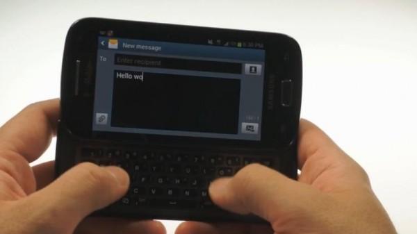 Samsung Galaxy S Relay 4G: video anteprima del nuovo Android con tastiera QWERTY
