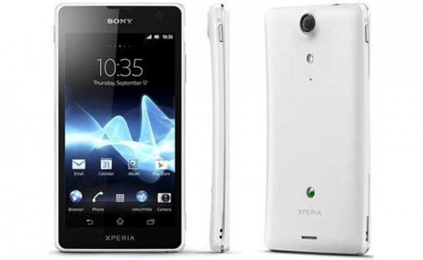 Sony Xperia T disponibile in UK, Francia e Germania