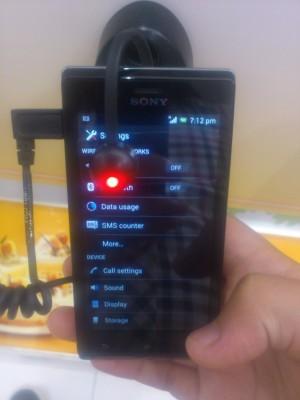 Sony Xperia J avrà la funzione integrata SMS Counter