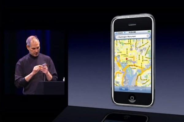 L'app Mappe non era prevista all'inizio dello sviluppo dell'iPhone
