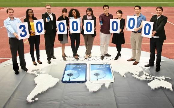 Samsung ha venduto 30 milioni di Galaxy S3