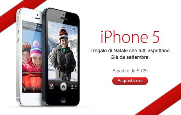 Apple iPhone 5: migliora la disponibilità in Italia
