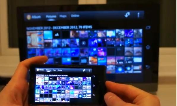 Sony Xperia T: video dimostrativo della funzionalità Wi-Fi Miracast