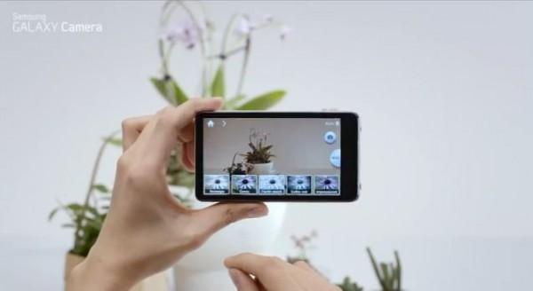 Samsung Galaxy Camera: video sulle sue funzionalità