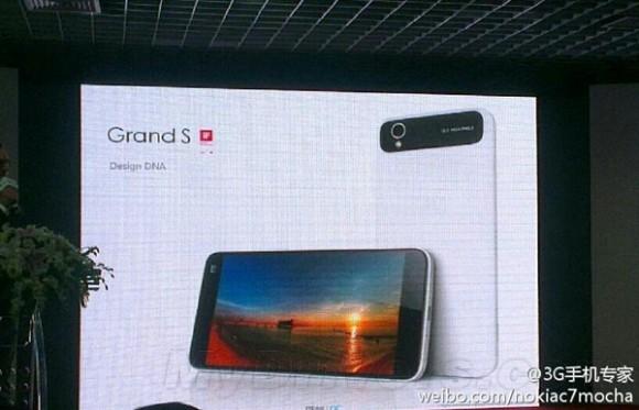 ZTE Grand S: dettagli e immagini inedite sul nuovo smartphone Android