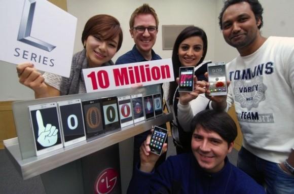 LG: venduti 10 milioni di smartphone della L-Series
