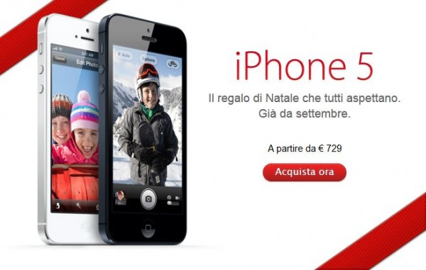 Apple iPhone 5: non c'è più il limite di 2 iPhone a persona