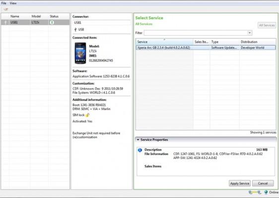 Sony Mobile rilascia la prima Beta del Flash Tool ufficiale