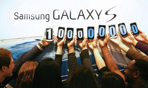 Samsung: venduti 100 milioni di smartphone Galaxy S