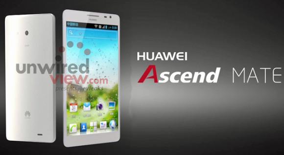 Huawei Ascend Mate si mostra in una prima immagine