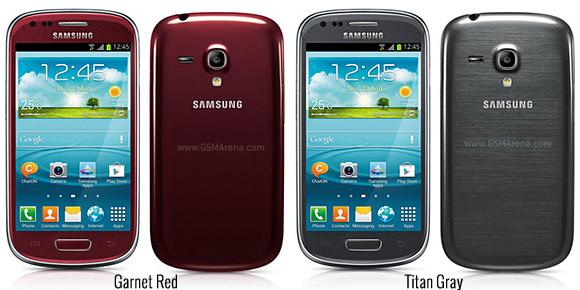 Samsung Galaxy S3 Mini: annunciati quattro nuovi colori