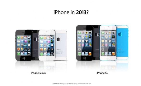 Apple iPhone 5S e iPhone Mini: nuova immagine di concept