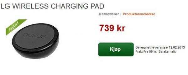 LG Nexus 4: l'accessorio Wireless Charging Orb compare online