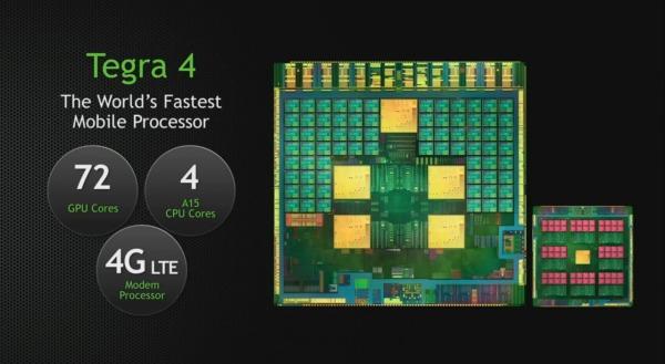 NVIDIA annuncia ufficialmente il chipset Tegra 4 al CES 2013