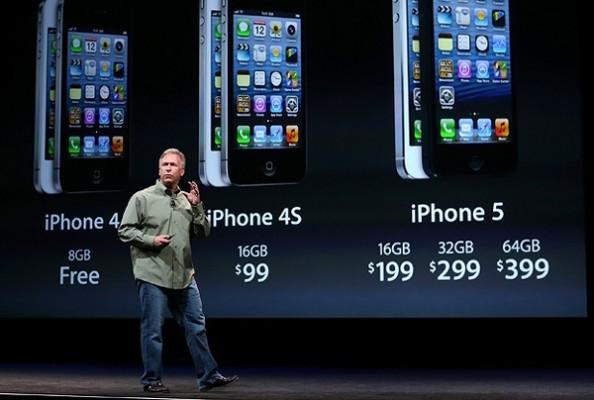 iPhone 5 e iPhone 4S: vendite maggiori rispetto al Samsung Galaxy S3