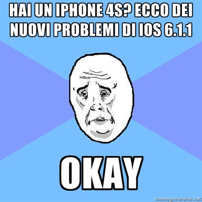 Apple iOS 6.1.1: ancora problemi con l'iPhone 4S