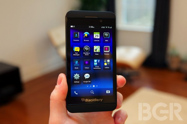 Blackberry Z10 e Blackberry Q10: dettagli sulle caratteristiche tecniche