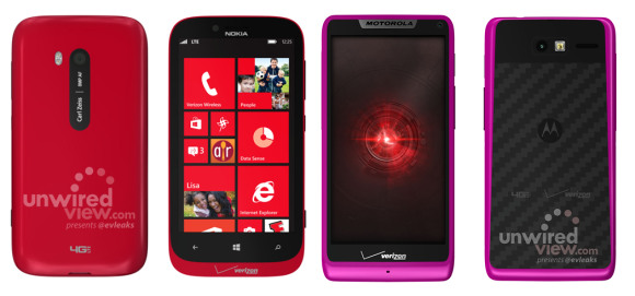 Nuovi colori per il Nokia Lumia 822 e il Motorola Razr M